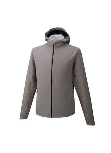 Mizuno 20K Er Jacket Erkek Yağmurluk Gri Gri